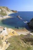 Visión sobre bahía del buque de guerra Fotografía de archivo libre de regalías
