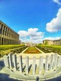 Visión sobre Bruselas desde arriba de artes del DES del mont Fotos de archivo