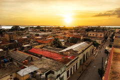 Visión sobre Cienfuegos Imagen de archivo