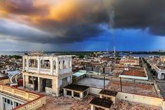 Visión sobre Cienfuegos Imagen de archivo libre de regalías