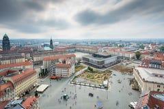 Visión sobre Dresden imagen de archivo