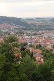 Visión sobre Eisenach Foto de archivo libre de regalías