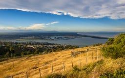 Visión sobre el área de Christchurch fotos de archivo libres de regalías