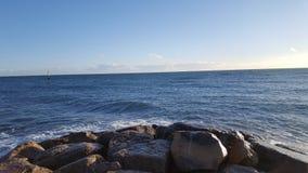 Visión sobre el mar imagen de archivo libre de regalías