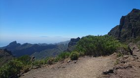Visión sobre el paisaje de Tenerife 2 Foto de archivo libre de regalías