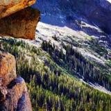 Visión sobre el rastro de Kane Lake Foto de archivo libre de regalías
