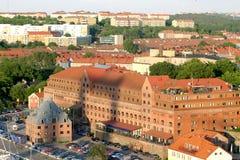 Visión sobre Göteborg sueco Imagen de archivo libre de regalías