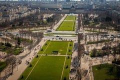 Visión sobre los tejados de París Fotografía de archivo