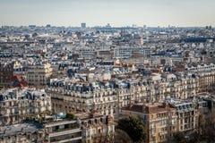 Visión sobre los tejados de París Fotografía de archivo libre de regalías
