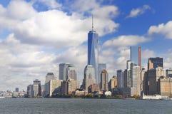 Visión sobre Manhattan foto de archivo libre de regalías