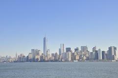 Visión sobre Manhattan imagen de archivo