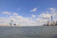 Visión sobre Manhattan fotografía de archivo libre de regalías