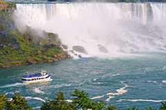 Visión sobre Niagara Falls fotos de archivo