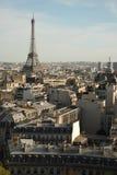 Visión sobre París Imágenes de archivo libres de regalías