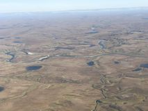 Visión sobre tundra del verano Fotos de archivo libres de regalías