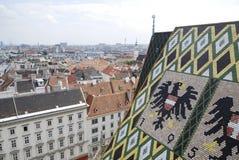 Visión sobre Viena imagen de archivo