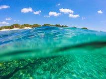 Visión subacuática hermosa fotografía de archivo libre de regalías