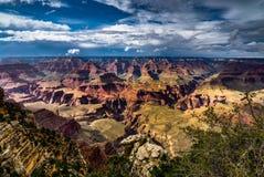 Visión a través de Grand Canyon Rim Arizona del sur Imagen de archivo