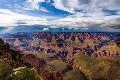 Visión a través de Grand Canyon Rim Arizona del sur Imágenes de archivo libres de regalías