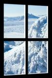 Visión a través de la ventana imagen de archivo