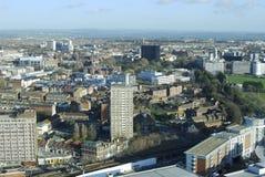Visión a través de Portsmouth. Inglaterra Imagen de archivo libre de regalías