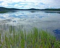 Visión a través de un lago Imagen de archivo