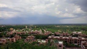 Visión verde desde el palacio de Jodhpur Foto de archivo