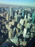 Visiónes desde el Empire State Fotografía de archivo libre de regalías