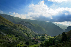 Visiónes desde el valle Imagen de archivo libre de regalías