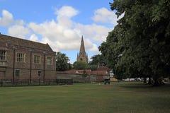 Visiónes desde Ely Cathedral Fotos de archivo libres de regalías