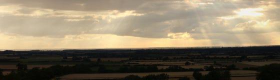 Visiónes desde las estepas de Waddington Fotografía de archivo