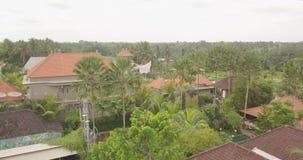 Visi?n desde el ubud superior Indonesia almacen de video