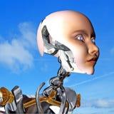 visibilité de cyborg illustration de vecteur