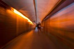 Visibilité de tunnel Photographie stock libre de droits