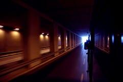 Visibilité de tunnel abstraite Photo stock