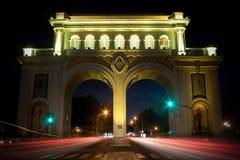 Visibilité directe Arcos Guadalajara Jalisco de Monumento Image libre de droits
