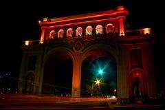Visibilité directe Arcos Guadalajara Jalisco de Monumento photo stock