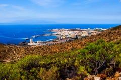 Visibilité directe Cristianos et La Gomera photos libres de droits