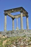Visibilité directe Cuatro Postes à Avila (Espagne) Photographie stock