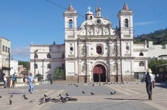 Visibilité directe Dolores d'Iglesia à Tegucigalpa Photographie stock libre de droits