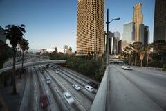 visibilité directe du centre d'Angeles Image libre de droits