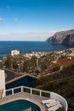 Visibilité directe Gigantes dans Tenerife Images stock