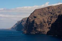 Visibilité directe Gigantes dans Tenerife Photo stock