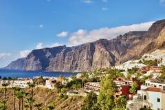 Visibilité directe Gigantes, Tenerife Image stock