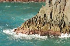 Visibilité directe Hervideros, Lanzarote Photo stock