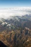 Visibilité directe les Andes de Cordillère De Images libres de droits