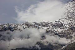 Visibilité directe les Andes de Cordillère De Photos libres de droits