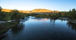 Visibilité directe les Andes de Junin De photographie stock libre de droits