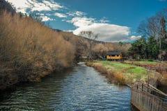 Visibilité directe les Andes de San Martin De photo stock