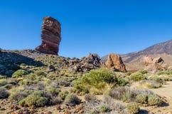 Visibilité directe Roques sur Ténérife Photo libre de droits
